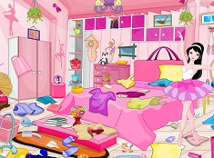 Ballerina Girl Messy Room Cleaning