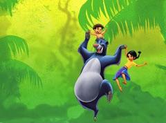 Baloo and Mowgli Puzzle