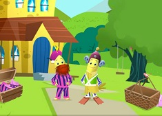 Bananas in Pyjamas Dress Up 2