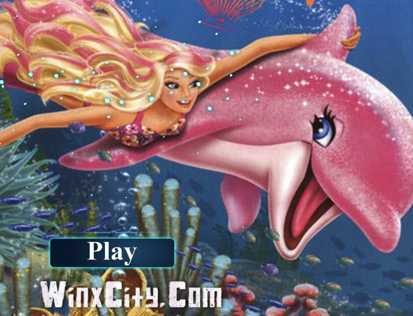 Barbie and Dolphin Puzzle
