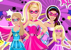 Barbie and her Sisters Super Heroes