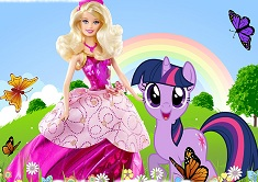 Barbie and Twilight Puzzle