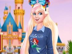 Barbie at Disneyland