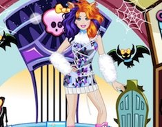 Barbie at Monster High