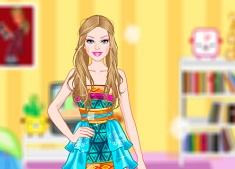 Barbie palace dress up