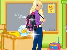 Play Barbie Back To School Dress Up | Friv.cloud