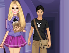 Barbie College Dress Up