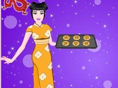 Barbie Cooking Chinese Cookies