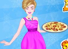 Barbie Cooking Sunrise Pizza