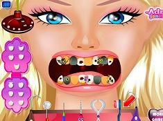 Barbie Dentist Game