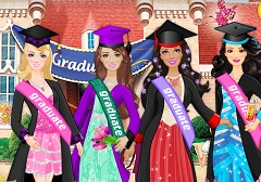 Barbie Dress Up Graduation