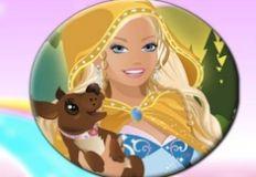 Barbie Fantasy Tales Round Puzzle
