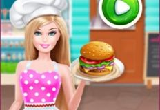Barbie Fast Food Restaurant