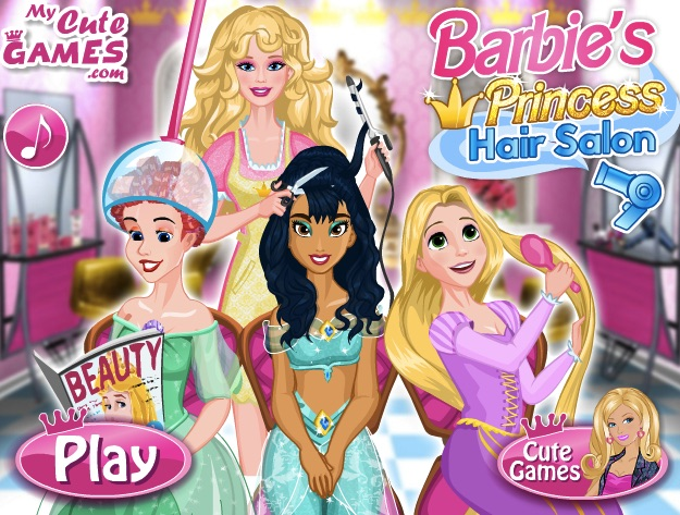 Barbie Hairstyle Salon