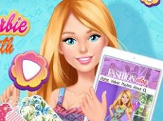 Barbie in Love With Fashion Summer Patterns