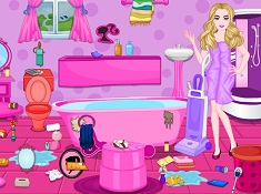 Barbie Messy Bathroom