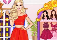 Barbie Mix and Match 2 Piece Dress