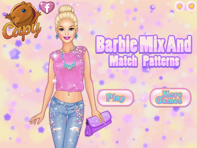Barbie Mix and Match Patterns