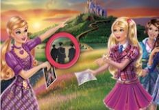 Barbie Princess Charm School Hidden Numbers