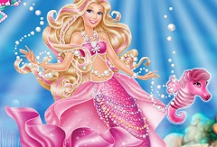 Barbie Princess Pearl Dress Up