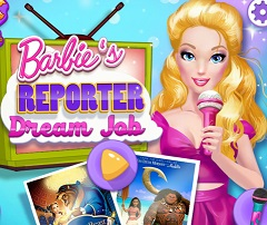 Barbie Reporter Dream Job