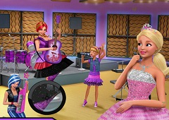 Barbie Rock N Royal Hidden Numbers