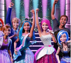 Barbie Rock N Royals  6 Differences
