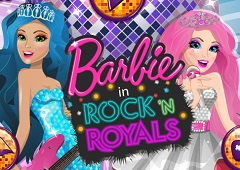 Barbie Rock N Royals Spa