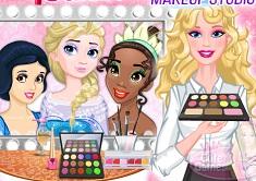 Barbie Royal Makeup Studio
