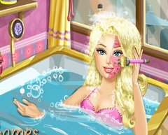 Barbie Spa Before Prom