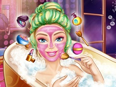 Barbie Spa Makeover