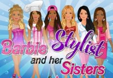 Barbie Stylist and Her Sisters