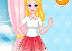 Barbie Summer T Shirt Makeover