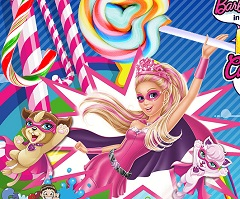 Barbie Superhero Candy Shooter