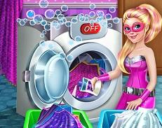 Barbie Superhero Washing Capes