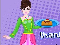 Barbie Thanksgiving Pumpkin Brownies