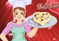 Barbie Valentine Blanc Mange