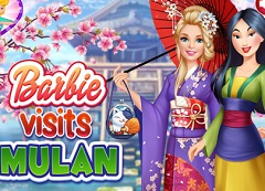 Barbie Visits Mulan