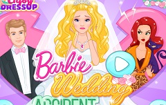 Barbie Wedding Accident