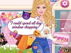Barbie Window Shopping