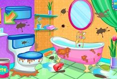 Bathroom Clean Up