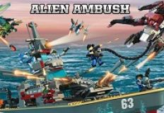 Battleship Alien Ambush