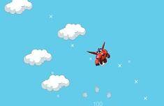 Baymax Clouds Jumping