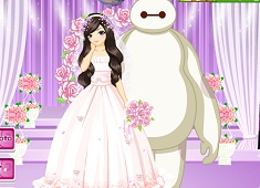 Baymax Marry Mermaid
