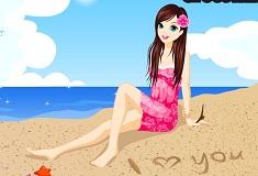 Beach Girl Love Letter