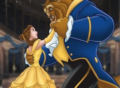 Beauty and the Beast Dancing Puzzle