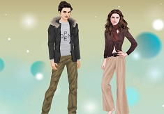 Bella and Edward Dress Up