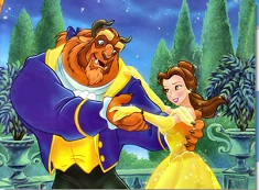 Belle and the Beast Dancing Puzzle