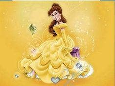 Belle Disney Princess Puzzle