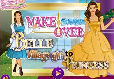 Belle Village Girl to Princess Makeover